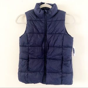 NWT old navy frost free puffer vest